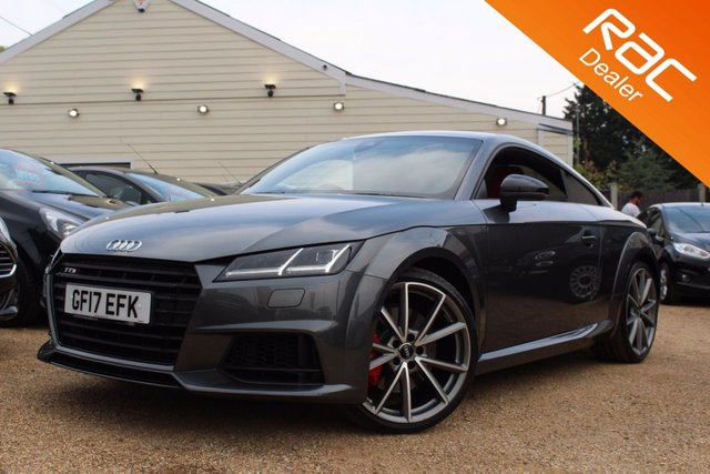 View our 2017 17 AUDI TT 2.0 TTS TFSI QUATTRO BLACK EDITION 2d 306 BHP