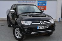 USED 2014 14 MITSUBISHI L200 2.5 DI-D 4X4 BARBARIAN LB DCB 1d 175 BHP BARBARIAN WITH FULL LEATHER, NAV & AIR CON