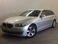 USED 2012 12 BMW 5 SERIES 2.0 520D SE TOURING 5d AUTO 181 BHP SAT NAV LEATHER PRIVACY FSH NOW SOLD.