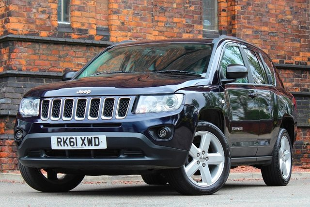 2011 61 JEEP COMPASS 2.2 CRD Limited Station Wagon 4WD 5dr