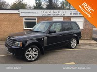 2010 LAND ROVER RANGE ROVER 3.6 TDV8 VOGUE 5d AUTO FACELIFT CHOICE OF 2 CALL FOR INFO £17990.00