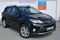 USED 2013 63 TOYOTA RAV4 2.2 D-4D ICON 5d 150 BHP ALL WHEEL DRIVE & ONE OWNER WITH FULL TOYOTA SERVICE HISTORY