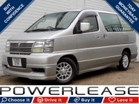 USED 2011 S NISSAN ELGRAND 3.2 D 5dr   8 SEATS FACTORY BODYKIT A/C