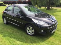 USED 2011 11 PEUGEOT 207 1.4 ENVY 5d 74 BHP **LOW MILEAGE***12MTH WARRANTY