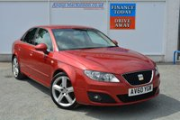 USED 2011 60 SEAT EXEO 2.0 SPORT TECH CR TDI 4d 141 BHP PREVIOUSLY SUPPLIED & SERVICED BY US