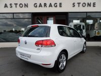 USED 2012 61 VOLKSWAGEN GOLF 1.6 MATCH TDI BLUEMOTION TECHNOLOGY 3d 103 BHP **ONE OWNER * FULL S/HISTORY * DAB**