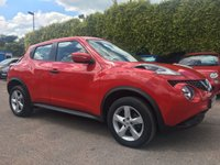 USED 2015 15 NISSAN JUKE 1.5 VISIA DCI 5d  STILL WITH NISSAN WARRANTY  NO DEPOSIT PCP/HP FINANCE ARRANGED, APPLY HERE NOW