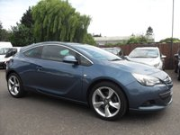 USED 2013 63 VAUXHALL ASTRA 2.0 GTC SRI CDTI S/S 3d 163 BHP  SAT NAV, UPGRADE ALLOYS NO DEPOSIT FINANCE ARRANGED, APPLY HERE NOW