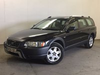 USED 2005 05 VOLVO XC70 2.4 D5 SE AWD 5d AUTO 163 BHP LEATHER SUNROOF MOT 06/18 FSH AWD. SUNROOF. STUNNING BLACK MET WITH FULL GREY LEATHER TRIM. ELECTRIC MEMORY HEATED SEATS. CRUISE CONTROL. 16 INCH ALLOYS. COLOUR CODED TRIMS. CLIMATE CONTROL. R/CD PLAYER. MFSW. TOWBAR. MOT 06/18. FULL SERVICE HISTORY. PRISTINE CONDITION. FCA FINANCE APPROVED DEALER. TEL 01937 849492
