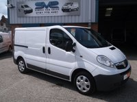 2008 VAUXHALL VIVARO 2.0 CDTI 2700 WITH TWIN SIDE DOORS CLEAN VAN WITH NO VAT TO PAY! £4500.00