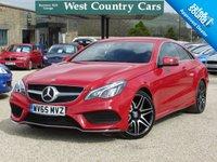 USED 2015 65 MERCEDES-BENZ E CLASS 2.1 E220 BLUETEC AMG LINE 2d 174 BHP High Spec Luxury Mercedes
