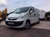 USED 2014 14 VAUXHALL VIVARO 2.0 2700 CDTI SPORTIVE 1d 115 BHP VAN, JUST SERVICED, DRIVE AWAY TODAY