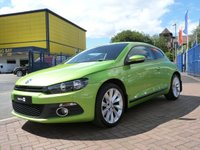 "USED 2011 11 VOLKSWAGEN SCIROCCO 2.0 GT TDI 2d 170 BHP FULL VW HISTORY ~ BLUETOOTH ~ DAB RADIO ~ AIR CONDITIONING ~ 18"" ALLOYS"