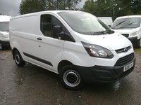 USED 2016 66 FORD TRANSIT CUSTOM 2.2 290 SWB LOWROOF 90 BHP NEWSHAPE