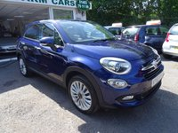 USED 2016 66 FIAT 500X 1.4 MULTIAIR LOUNGE 5d 140 BHP Full Service History (Just Serviced by ourselves), One Owner from new, Balance of Fiat Warranty until 2019