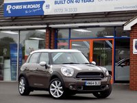 USED 2014 64 MINI COUNTRYMAN 2.0 COOPER SD 5dr 141 BHP * Full Leather * *ONLY 9.9% APR with FREE Servicing*