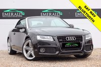 USED 2011 61 AUDI A5 3.0 TDI QUATTRO S LINE 2d AUTO 240 BHP **£0 DEPOSIT FINANCE AVAILABLE**SECURE WITH A £99 FULLY REFUNDABLE DEPOSIT** FULL S LINE LEATHER, HEATED FRONT SEATS, SATELLITE NAVIGATION, BLUETOOTH CONNECTION, PARKING ASSIST WITH FRONT + REAR SENSORS, AIR CON + DUAL CLIMATE CONTROL, FULL SERVICE HISTORY, FULL MOT