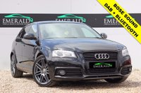 """USED 2010 10 AUDI A3 2.0 SPORTBACK TDI S LINE SPECIAL EDITION 5d 138 BHP **£0 DEPOSIT FINANCE AVAILABLE**SECURE WITH A £99 FULLY REFUNDABLE DEPOSIT** BOSE SOUND, S LINE HALF LEATHER, PIONEER HEAD UNIT WITH BLUETOOTH + DAB, PRIVACY GLASS, 18"""" ALLOYS, CRUISE CONTROL, AUX PORT, FULL SERVICE HISTORY, FULL MOT"""