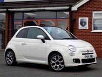 USED 2014 14 FIAT 500C 1.2 C S 3dr * Upgrade Alloys * *ONLY 9.9% APR with FREE Servicing*