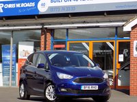 USED 2016 16 FORD C-MAX 1.5 TDCi ZETEC 5dr AUTO * Sat Nav * **Only 4000 Miles**