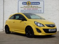 USED 2014 14 VAUXHALL CORSA 1.2 LIMITED EDITION 3d 83 BHP *1 OWNER FULL DEALER HISTORY*