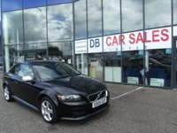 USED 2009 09 VOLVO C30 1.6 R-DESIGN 3d 100 BHP £0 DEPOSIT, LOW RATE FINANCE ANYONE, DRIVE AWAY TODAY!!