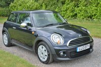 2013 MINI HATCH ONE 1.6 ONE D 3d 90 BHP £6495.00