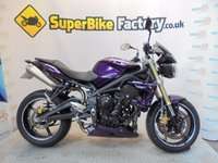 USED 2012 12 TRIUMPH STREET TRIPLE  GOOD&BAD CREDIT ACEEPTED, OVER 500+ BIKES
