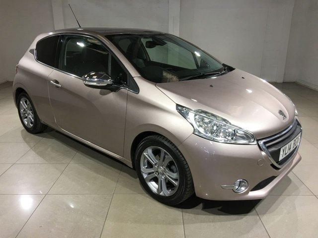 View our 2014 14 PEUGEOT 208 1.4 HDI ALLURE 3d 68 BHP