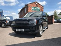 USED 2012 12 LAND ROVER RANGE ROVER SPORT 3.0 SDV6 HSE 5d AUTO 255 BHP This vehicle comes fully serviced, with a 6 MONTHS renewable warranty,12 Months M.O.T, Fully prepared ready for 12 months hassle free motoring