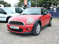 2011 MINI HATCH FIRST 1.6 FIRST 3d  £4500.00