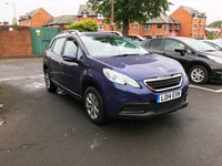 USED 2014 14 PEUGEOT 2008 1.4 HDI ACCESS PLUS 5d 68 BHP EXCELLENT FUEL ECONOMY!!..LOW CO2 EMISSIONS(104G/KM)..£20 ROAD TAX...FULL HISTORY...ONLY 7331 MILES FROM NEW!!..