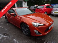 USED 2014 64 TOYOTA GT86 2.0 D-4S 2d AUTO 197 BHP Low Mileage, Toyota Service History, One Owner from new, NEW MOT (to be completed), Automatic