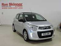 USED 2015 15 CITROEN C1 1.2 PURETECH AIRSCAPE FEEL 5d 82 BHP