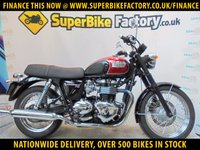 USED 2014 64 TRIUMPH BONNEVILLE T100 GOOD & BAD CREDIT ACCEPTED, OVER 500+ BIKES
