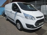 2014 FORD TRANSIT CUSTOM 290 TREND SWB L1 100 PS *CRUISE*BLUETOOTH* £11250.00