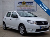 USED 2014 63 DACIA SANDERO 1.1 AMBIANCE 5d 75 BHP Bluetooth + Service History 0% Deposit Finance Available
