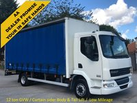 USED 2007 07 DAF LF 45 18180 4x2 Day [ Curtain side+T/Lift Low Mileage ] 12ton Free UK Delivery