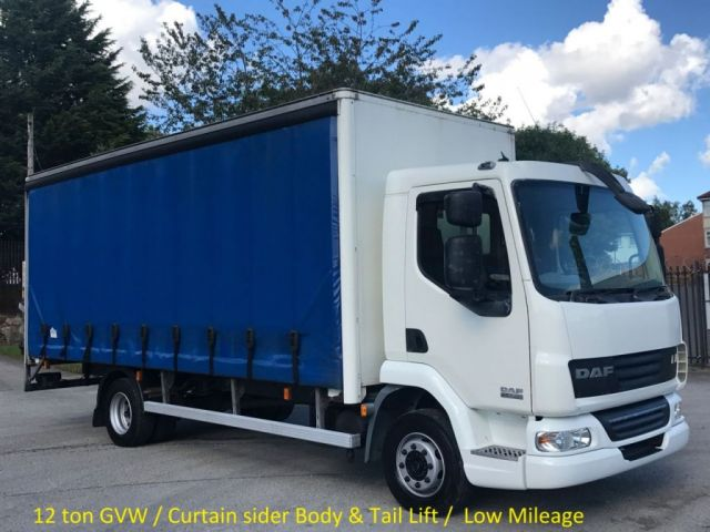 2007 07 DAF LF 45 18180 4x2 Day LWB [ Curtain side+T/L ] Low Mileage 12ton Free UK Delivery