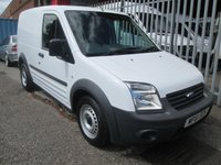 2011 FORD TRANSIT CONNECT 200 SWB Low roof 1.8 TDCi 75 PS  £5495.00