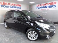 USED 2014 14 NISSAN NOTE 1.2 ACENTA DIG-S 5d AUTO 98 BHP Full Nissan Service History , 1 owner from new , Bluetooth