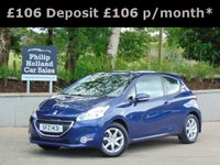 USED 2014 PEUGEOT 208 1.0 ACTIVE 3d 68 BHP GREAT SPEC, TOUCHSCREEN DAB RADIO, BLUETOOTH, CRUISE CONTROL
