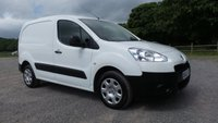 USED 2013 63 PEUGEOT PARTNER 1.6 HDI S L1 850 1d 89 BHP ++GREAT CONDITION THROUGHOUT++1 FORMER KEEPER +E/MIRRORS ++ E/WINDOWS+REMOTE CENTRAL LOCKING+2 X KEYS, GENUINE 56,000 MILES