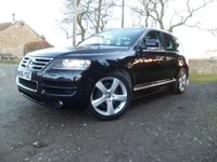USED 2006 56 VOLKSWAGEN TOUAREG 3.0 V6 TDI ALTITUDE 5d AUTO 221 BHP HUGE SPEC. REAR DVD, AIR SUSPENSION, ADJUSTABLE DAMPERS, XENON LIGHTS. FULL VW HISTORY. NEW WHEELS AND TRES