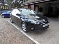 USED 2013 13 FORD FOCUS 1.6 ZETEC TDCI 5d 113 BHP FULL SERVICE HISTORY, £20 A YEAR ROAD TAX, 2 KEYS, DAB RADIO USB AND AUX CONNECTION
