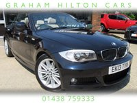 "USED 2013 13 BMW 1 SERIES 2.0 118D M SPORT 2d AUTO 141 BHP FULL LEATHER, 17"" ALLOYS, PARKING SENSORS, FULL SERVICE HISTORY, SPARE KEY"