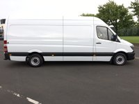 USED 2014 MERCEDES-BENZ SPRINTER 2.1 313 CDI LWB 1d 129 BHP FULL MERCEDES HISTORY READY FOR WORK