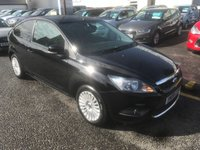 USED 2008 08 FORD FOCUS 1.6 TITANIUM 3d 100 BHP PRICE INCLUDES A 6 MONTH AA WARRANTY DEALER CARE EXTENDED GUARANTEE, 1 YEARS MOT AND A OIL & FILTERS SERVICE. 6 MONTHS FREE BREAKDOWN COVER
