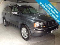 USED 2009 09 VOLVO XC90 2.4 D5 SE PREMIUM AWD 5d AUTO 185 BHP 7-Seater, full leather upholstery, heated front seats, Satellite navigation, front and rear parking sensors