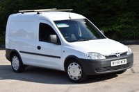 2008 VAUXHALL COMBO VAN 1.2 2000 CDTI 5d 75 BHP SWB DIESEL MANUAL CAR DERIVED VAN £2750.00